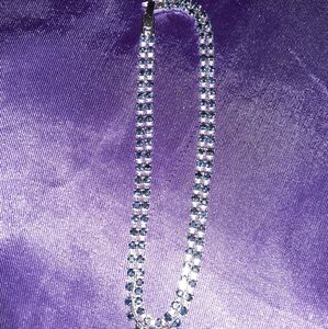 Beautiful Blue Gemstone Ankle Bracelet